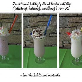 Zmrzlinové koktejly